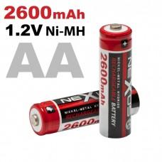 Akkumulátor AA 2600/1,2 V 2 db