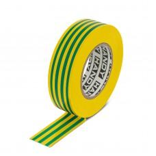 Szigetelő szalag  sárga-zöld 20 m