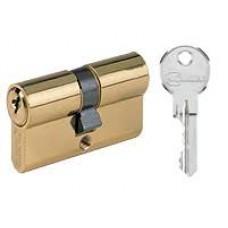 Zárbetét 60 mm 3 kulcsos