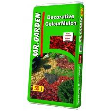Dekorációs faapríték  vörös színű 50 L