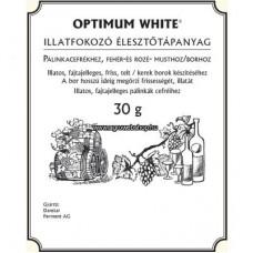 Optimum White 30 G - Illatfokozó Élesztő Tápanyag Pálinkacefrékhez, Borhoz, Fehér És Rozé Musthoz