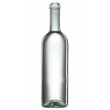 Üveg boros fehér, zöld 0,75 L