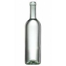 Üveg boros,fehér 0,75 L