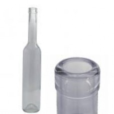 Üveg hosszú nyakú pálinkás 0,5 L