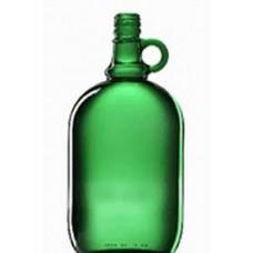 Üveg zöld, füles, menetes kupak 2 L