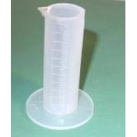 Mérőhenger műanyag 100ml osztásos