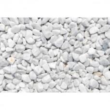 Márvány kavics Carrara fehér 16-25 mm 25 kg